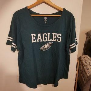 Philadelphia Eagles Womens Fan Tee